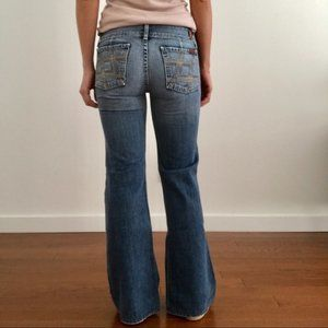 7 for All Mankind Mojo Flare Bootcut Jean
